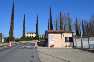 L'ingresso del complesso residenziale