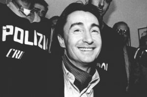 Felice Maniero al momento del primo arresto nel 1980 (da Wikipedia
