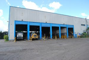 L'impianto Tmb di Casale Bussi a Viterbo
