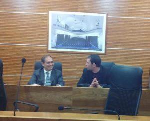 Due capigruppo: a sinistra, Michele Venturiello, pdl; ed Emanuele Di Silvio, pd