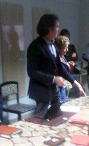 L'avvocato Fabio Frattini