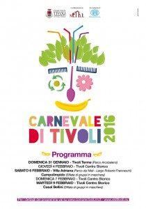 """Il manifesto del """"Music Theatre International"""" per il Carnevale di Tivoli"""