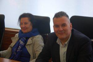 Patrizia Carusi con Simone Guglielmo
