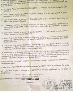 Il decreto sindacale firmato ieri da Andrea Di Palma
