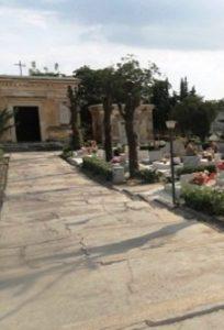 Il cimitero di Montecelio