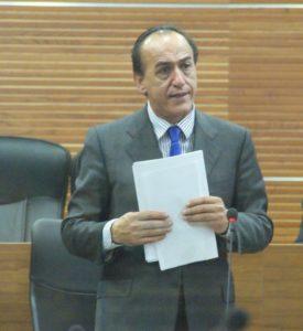 L'ex sindaco Eligio Rubeis