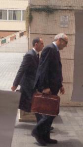 I commissari Giuseppe Marani e Carlo Foti