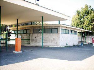 L'ingresso del centro clinico Colle Cesarano