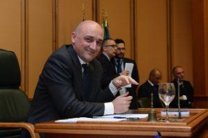 Daniele Leodori, presidente del Consiglio della Regione Lazio