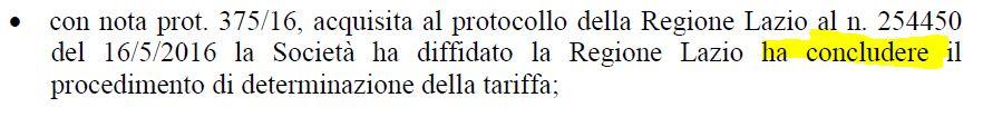 """Può capitare (?). Anche su una """"determina"""" della Regione Lazio"""