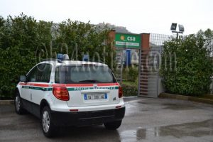 """La sede della """"Csa srl"""", a Castelforte di Latina"""