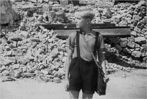 """Da """"Germania Anno Zero"""", capolavoro di Roberto Rossellini"""