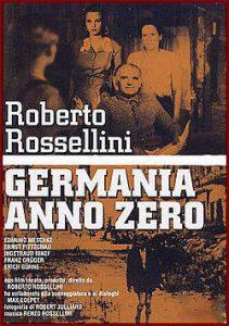 """Il poster di """"Germania Anno Zero"""""""