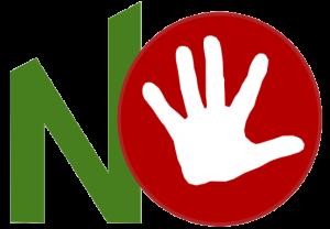 """Il logo del """"Comitato per il No"""""""