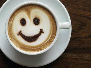 tazzina caffè con cuore