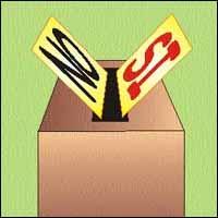 urna elezioni sì-no