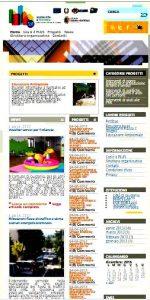 """Il portale """"guidoniaplus.it"""" com'è oggi; com'era nel 2013"""