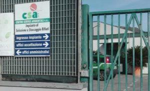 """L'impianto di Castelforte della """"Csa"""" (da 'latinacorriere.it)"""
