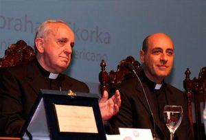 José Maria Bergoglio con Vìctor Manuel Fernández