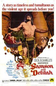 Il poster di Sansone e Dalila