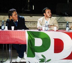 Domenico De Vincenzi a sinistra) e Mario Lomuscio